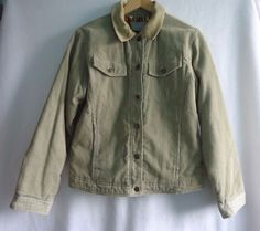 Womens Per Una Corduroy Coat Jacket Size 12