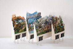 landschappen-ansichtkaarten Caterina Rossato