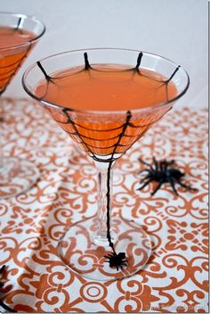 Spider Web Cocktail