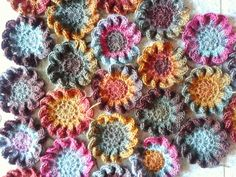 Too many WIPS?? Japanese Crochet Flower, Crochet Basket pendant, Linen Stitch and Shell pattern