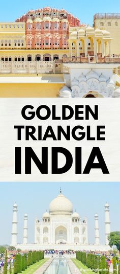 Golden Triangle India itinerary as DIY tour by train, bus, taxi 🚊 Backpacking India India Travel Guide, Asia Travel, Beautiful Places To Visit, Cool Places To Visit, Golden Triangle India, Rajasthan India, Jaipur, Delhi India, Backpacking India