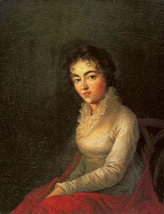 Constanze Mozart, nee Weber, wife of Wolfgang Amadeus Mozart.