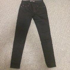 Black Levi legging Never worn black Levi Jean legging style Levi's Jeans Skinny