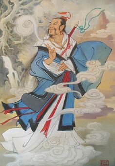 LÜ DONGBIN (Chinese: 呂洞賓; born 796) was a Tang Dynasty Chinese scholar and poet who has been elevated to the status of an immortal in the Chinese cultural sphere, worshipped especially by the Taoists. Lü is one of the most widely known of the group of deities known as the Eight Immortals and considered by some to be the de facto leader. (The formal leader is more likely said to be Zhongli Quan or sometimes Iron-Crutch Li.)