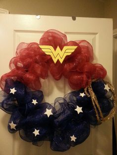 Wonder woman wreath!