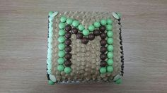 Mint Aero/Matchmaker chocolate & green sponge for Macmillan fundraising 24 Sept 15