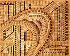 Maybe I'll start collecting corks so I can make something cool like this...
