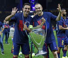 Andrés Iniesta ha estat escollit l'MVP de la final de Berlín / MIGUEL RUIZ-FCB