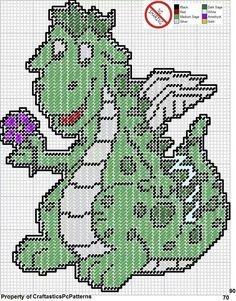 PETE'S DRAGON by CraftasticPcPatterns