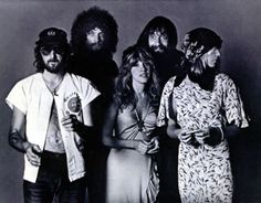 """This is the back cover of """"Rumours"""".  I used to stare at it and wish I was in the band.  I didn't know Lindsey was a dude and I didn't know Stevie was a chick.  Their names were all listed but I had them all screwed up in my head."""