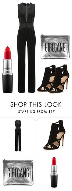 """""""Easy Glamour"""" by sophiejupiter ❤ liked on Polyvore featuring Balmain and MAC Cosmetics"""