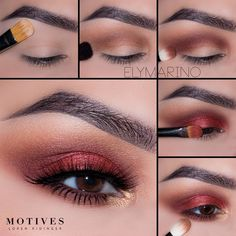 "5,654 Likes, 13 Comments - Motives Cosmetics Official (@motivescosmetics) on Instagram: ""Swooning over this @elymarino tutorial using ALL #motivescosmetics.  Details below. 1.Begin by…"""