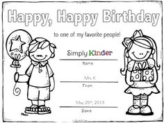 Ink Money & Colorable Certificates for the Entire Year {With Freebie} - Simply Kinder