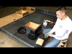 Learn how to install JM EPDM Outside Corner Flashing with Johns Manville. Flat Roof Replacement, Epdm Roofing, Flat Roof Repair, Roofing Systems, Roofing Contractors, Calgary, The Outsiders, Garage, Corner