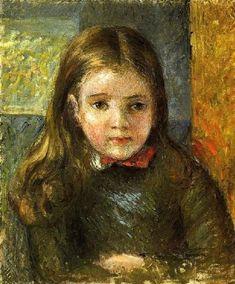 Portrait de Georges  Camille Pissarro (1830 – 1903, French)