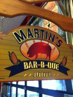 Love Martin's BBQ in #Nashville.