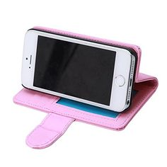 GUAngqi PU Leather Flip Wallet Stand Case Cover For Apple iPhone 5 5S 6 6S 6PLUS 6SPLUS * Find out more details by clicking the image : Utensil Organizers