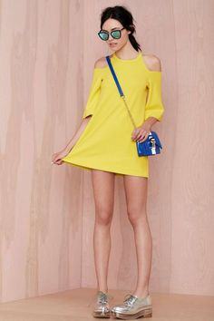 Foxiedox Canary Shift Dress - Shift   Going Out   Day   Clothes   All