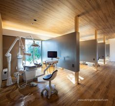 View full picture gallery of Hiraoka Design - Kumano Dental Clinic Clinic Interior Design, Clinic Design, Design Offices, Modern Offices, Dental Office Decor, Medical Office Design, Healthcare Architecture, Healthcare Design, Cl Design