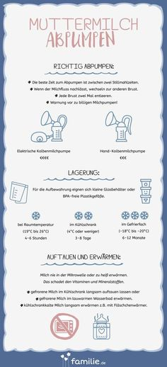 Pumping: Mobile with breast milk familie.de - Pumping breast milk: the most important information at a glance. Pumping breast milk: the most impo - Baby Co, Mom And Baby, Baby Kids, Baby Baby, Parenting Teens, Parenting Advice, Parenting Quotes, Baby Registry Checklist, Parental