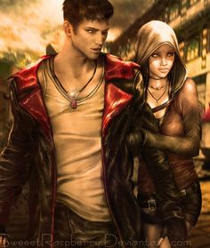 Devil May Cry : Dante and Kat