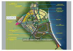 Lokasi Osaka Riverview Apartement Jakarta PIK2
