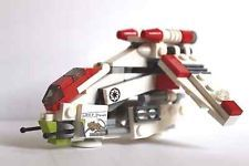 "Lego Star Wars Mini Republic Gunship - Nexu ""Bad Kitty"" Custom"