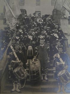 Colours & Drums, 2nd Bn Seaforth Highlanders, Agra 1912