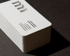Cut Out Business Card
