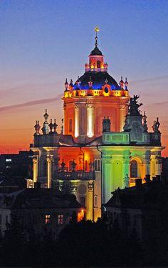 Lviv /Церква св.Юра./ , W Ukraine , photo by Sergiy Vetrov , from Iryna