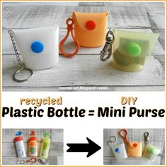 Plastic Bottle to Mini Purse