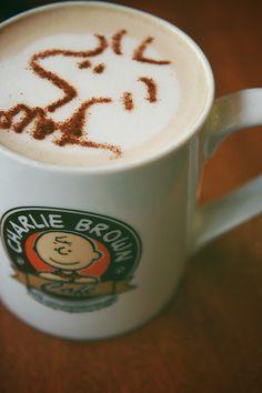 Charlie Brown Cafe!