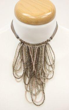 Brunello Cucinelli Muscovite Silver Jewelry Necklace New w Gift Bag 2700$ | eBay