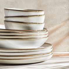 IKEA - GLADELIG, Deep plate/bowl, gray, Use as a beautiful eye-catcher or combine with other items in the GLADELIG series to create a matched table setting on both weekdays and weekends.