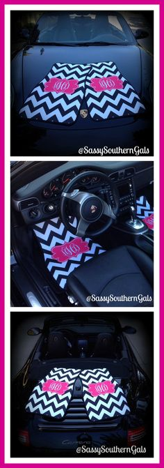 I WANT I WANT I WANT!!!!! Monogram Gift Idea, Sweet Sixteen Gift, 18th Birthday Gift, Monogrammed / Personalized Car Mats on Etsy $75.00 www.sassysoutherngals.etsy.com
