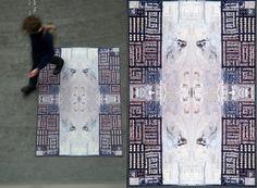 Google Earth Carpet  From Designer David Hanauer