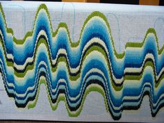 Bargello-wip...which way is up? by elsy965, via Flickr