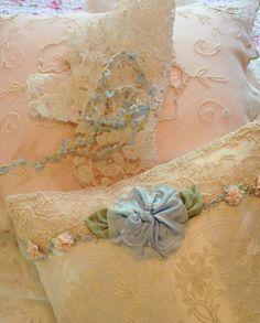 Delicate silk trims
