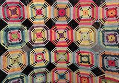 Kaléidoscope de Eclectic Gipsyland pour Renaissance Dyeing et marie Claire Idées n° 89