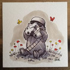 Artist James Hance's Star Wars Meets Winnie The Pooh Illustrations Are Brilliant! - Asda Good Living