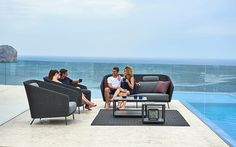 Mambo Outdoor Wicker Patio Sofas & Lounge Chairs