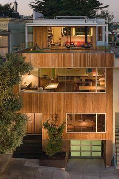 Wooden Terrace House
