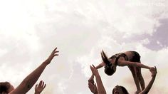 cheerleading gif>>this is so much fun i wish I were still a flyer