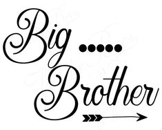 47d50623c Big Brother Brother SVG Sibling SVG Cut File T-shirt Big Brother Little  Brother,