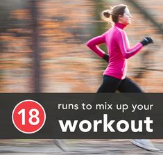 18 Running Workouts to Try Something New