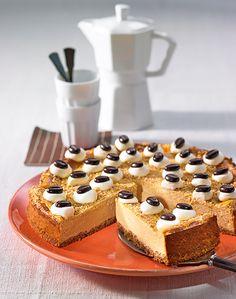 Espresso-Käsekuchen: Ein Käsekuchen der ganz besonderen Art mit Espresso und gemahlenen Haselnüssen