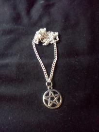 Silver Pentacle Neclace