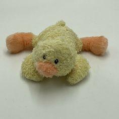 """Baby Gund Chickles Duck Chick Plush Rattle Soft Toy Stuffed 5"""" 36129 Animal #BabyGUND"""
