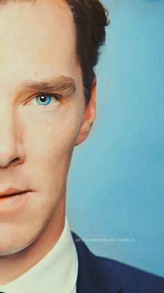 Benedict Cumberbatch // I think his eyes change color to match his surroundings, what do you guys think?