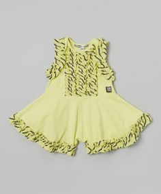 This Citrus Magnolia Romper Skort - Infant by KidCuteTure is perfect! #zulilyfinds